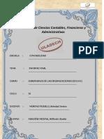 Informe Final Gobernanzas