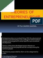 Entrepreneurship Theories
