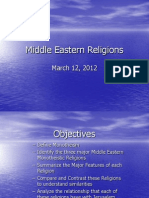 Three Religions PPT