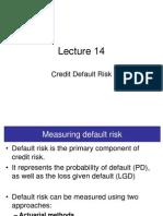 15 Credit Risk