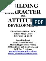 Building Character & Attitude Development