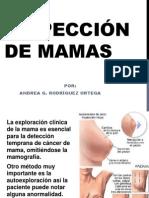 Inspección de mamas