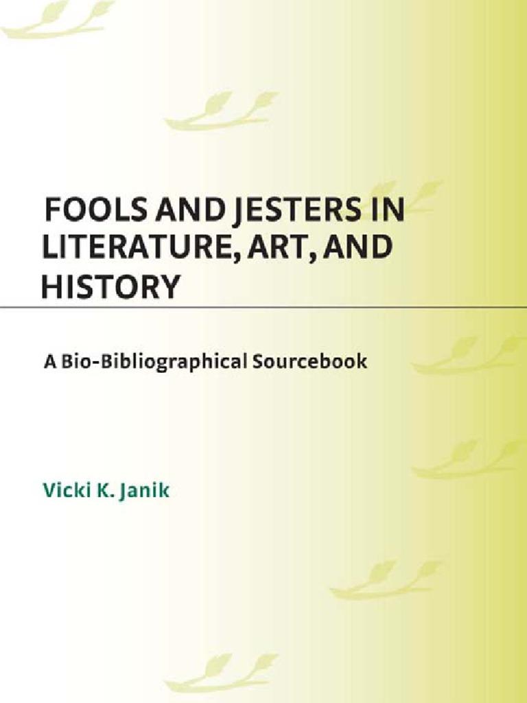 Fools   Jesters  8e9495d00