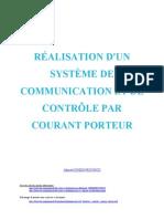 AC Interface Controle Courant Porteur
