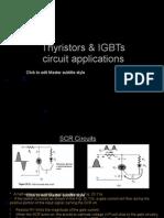 Thyristors & IGBT Circuit Applications