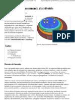 Sistema de processamento distribuído – Wikipédia, a enciclopédia livre