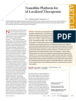 Chow Piestorff Ho Copolymeric Nanofilm Platform for Controlled and Localized