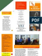 CSM Brochure Update 2012