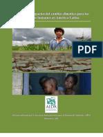 Principales impactos del cambio climático para los derechos humanos en América Latina
