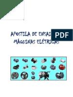 apostila de ensaio de Máquinas Eletricas. Erickson. atualizada. dezembro de  2011