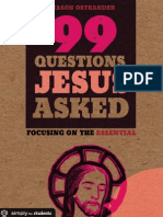 99 Questions Jesus Asked by Jason Ostrander