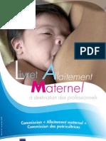Allaitement Pro Livret 24 Pages