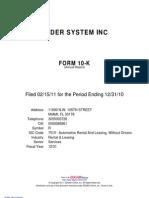 Ryder 2010 Form 10-K