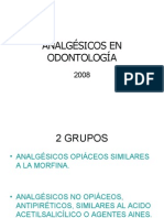 Analgesicos en Odontologia