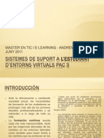 Sistemas de Suport a l'Estudiant Pac 3 Version 2003