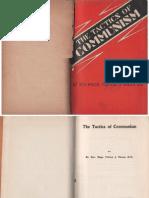 Tactics of Communism-Fulton J. Sheen 1930