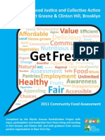 MARP Get Fresh Community Food Assessment