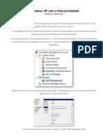 Como instalar o Windows XP com o Vista já instalado