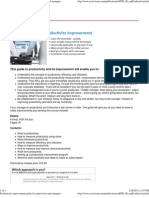 Productivity Improvement Guide for Supervisors and Managers
