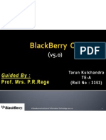 Blackberry OS Version2
