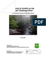 Forest Service Chattooga Capacity and Conflict Report 2006-07