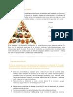 Pirámide Alimentaria Chilena