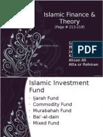 Islamic Finance & Theory