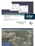 Zareian Ground Motion Selection