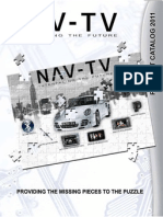 NAV-TV 2011 Product Web Catalog