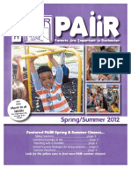 PAIIR Spring-Summer 2012 Newsletter