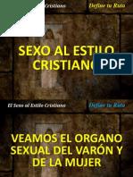 Sexo Al Estilo Cristiano.