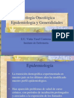 Patologia Oncologica Epidemiologia y General Ida Des