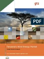 Gtz2010 en Target Market Analysis Wind Tanzania