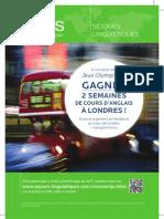 AILS séjours linguistiques | Gagnez 2 semaines d'anglais à Londres