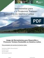 Juego de herramientas para desarrollar y promover turismo sostenible en América Latina
