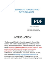 Ppt on Indian Economy Features and Development