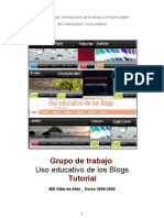 Tutorial Edublogs