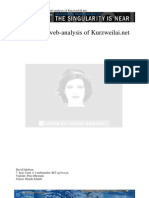 Jakobsen D; Rhetorical Web-Analysis of KurzweilAI.net Paper 2006