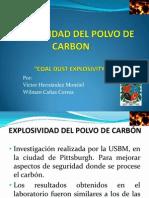 Explosividad Polvo Carbòn_Victor H, Wilman C