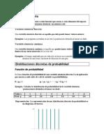 apuntes distribución de probabilidad discreta