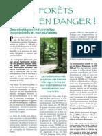 Forêts en danger