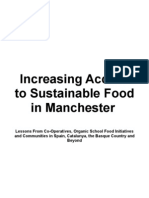 Increasing Access to Sustainable Food in Manchester
