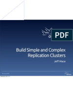 Build Simple and Complex Replication Clusters
