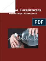 Medical Emergencies Management Guidelines