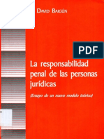 La Responsabilidad Penal de Las Personas Juridicas - David Baigun