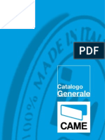Catalogo Generale Came