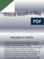 Técnica de Repujado en Metal