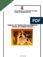 Manual de Trabalhos Academicos - ADM UESB