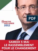 Tract François Hollande 2etour Outremer