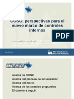 Proposed Revisions to the COSO Framework - Spanish